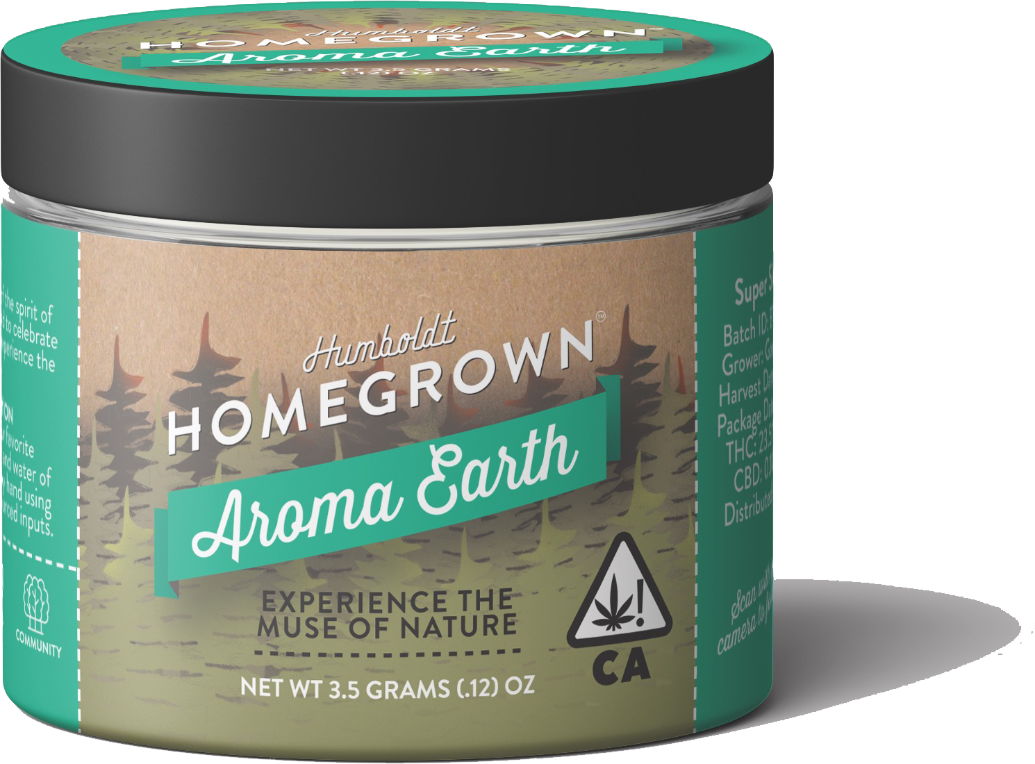 Humboldt Homegrown Aroma Earth Organically Sourced Cannabis