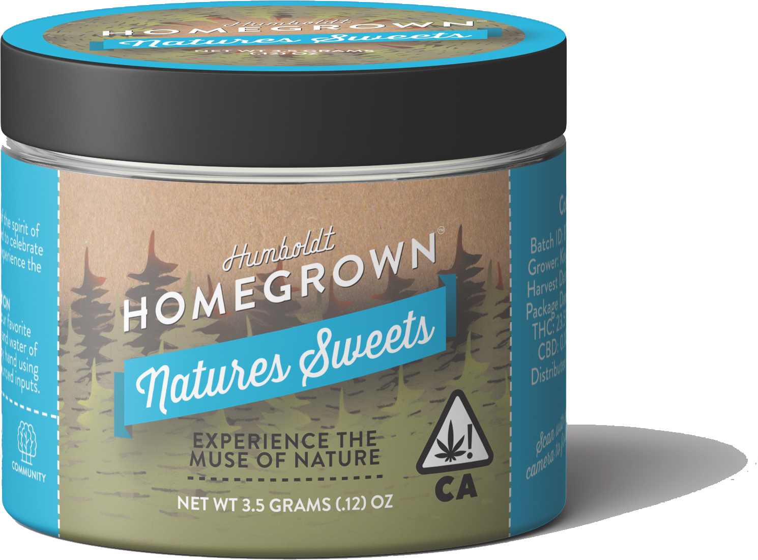 Humboldt Homegrown Natures Sweets Organically Sourced Cannabis