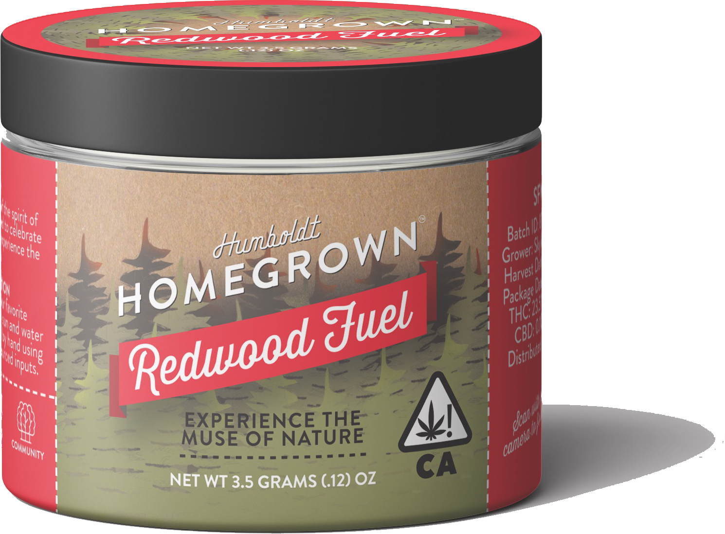 Organically Sourced Cannabis Humboldt Homegrown Redwood Fuel