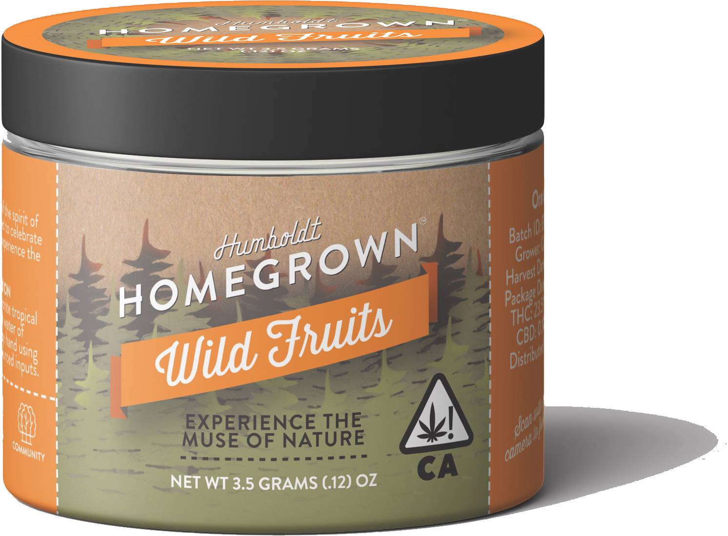 Humboldt Homegrown Wild Fruits Organically Sourced Cannabis